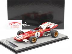 Jacky Ickx Ferrari 312B2 #4 3ro Mónaco GP fórmula 1 1971 1:18 Tecnomodel