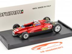 Gilles Villeneuve Ferrari 126C2 #27 Transport Version 1:43 Brumm