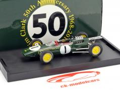 Jim Clark Lotus 25 #1 Winner Belgien GP World Champion Formel 1 1963 1:43 Brumm