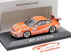 Porsche 911 (997) GT3 Cup #1 VIP Car Supercup 2006 1:43 Minichamps