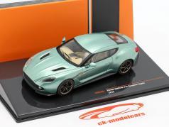 Aston Martin V12 Vanquish Zagato year 2016 green metallic 1:43 Ixo