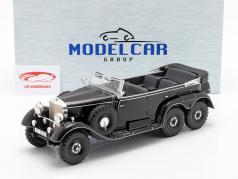 Mercedes-Benz G4 (W31) Bouwjaar 1934-1939 zwart 1:18 Model Car Group