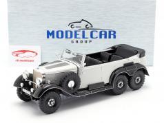 Mercedes-Benz G4 (W31) Bouwjaar 1934-1939 lichtgrijs 1:18 Model Car Group