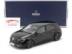 Renault Megane R.S. Baujahr 2017 schwarz 1:18 Norev