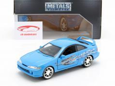Mia's Honda Acura Integra 1995 Película Fast & Furious (2001) azul 1:24 Jada Toys