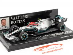 Valtteri Bottas Mercedes-AMG F1 W10 #77 3º Monaco GP F1 2019 1:43 Minichamps