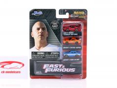 3-Car Set NV-3 Fast & Furious 1:87 Jada Toys