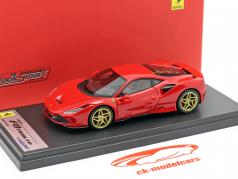 Ferrari F8 Tributo Année de construction 2019 corsa rouge 1:43 LookSmart