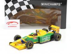 Riccardo Petrese Benetton B193B #6 3rd British GP Formel 1 1993 1:18 Minichamps
