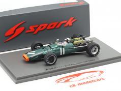 Pedro Rodriguez BRM P133 #11 2e Belge GP formule 1 1968 1:43 Spark