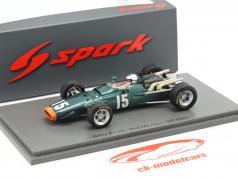 Richard Attwood BRM P126 #15 2e Monaco GP formule 1 1968 1:43 Spark