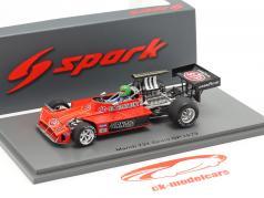 Henri Pescarolo March 731 #11 Espagnol GP formule 1 1973 1:43 Spark