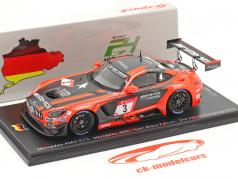 Mercedes-Benz AMG GT3 #3 2nd 24h Nürburgring 2019 Team Black Falcon 1:43 Spark
