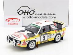 Audi Sport Quattro Gr. B #3 3º RMC Rallye 1985 Röhrl, Geistdörfer 1:18 OttOmobile