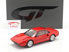 Ferrari 308 GTB Coupe Byggeår 1980 rød 1:18 GT-SPIRIT