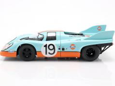 Porsche 917K Gulf #19 第二名 24h LeMans 1971 Attwood, Müller 1:18 CMR