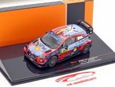 Hyundai i20 Coupe WRC #11 ganador Rallye Catalunya 2019 Neuville, Gilsoul 1:43 Ixo