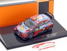 Hyundai i20 Coupe WRC #6 5e Rallye Allemagne 2019 Sordo, Del Barrio 1:43 Ixo