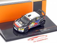 Hyundai i20 R5 #19 5to Rallye Terre du Var 2019 Loeb, Godey 1:43 Ixo