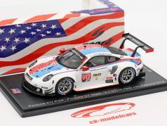 Porsche 911 RSR #912 3rd GTLM Class 24h Daytona 2019 Porsche GT Team 1:43 Spark / 2. valg