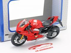 Ducati Panigale V4 rød 1:18 Bburago
