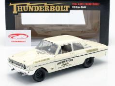 Ford Thunderbolt Hemi Hunter 1964 room Wit / goud 1:18 GMP
