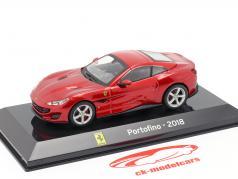 Ferrari Портофино год 2018 красный 1:43 Алтайя