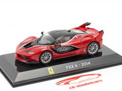 Ferrari FXX K #88 year 2014 red / black 1:43 Altaya