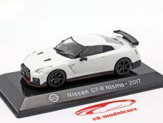 Nissan GT-R Nismo R35 year 2017 white 1:43 Altaya