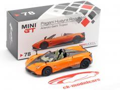 Pagani Huayra Roadster LHD Saint Tropez Orange 1:64 TrueScale