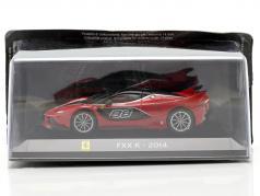 Ferrari FXX K #88 Ano de construção 2014 vermelho / Preto 1:43 Altaya