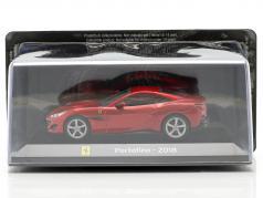 Ferrari Portofino ano 2018 vermelho 1:43 Altaya