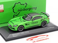 Mercedes-Benz AMG GT-R Ringtaxi The Beast 2018 groen metalen 1:43 Minichamps