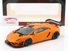 Lamborghini Gallardo GT3 FL2 Bouwjaar 2013 oranje metalen 1:18 AUTOart
