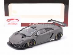 Lamborghini Gallardo GT3 FL2 Baujahr 2013 matt grau 1:18 AUTOart