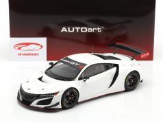 Honda NSX GT3 Anno di costruzione 2018 bianca 1:18 AUTOart