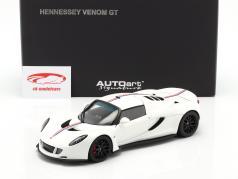 Hennessey Venom GT Coupe Spider Anno di costruzione 2012 bianca 1:18 AUTOart