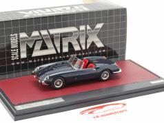 Ferrari 250 GT Cabriolet Series I Pininfarina year 1957 dark blue 1:43 Matrix