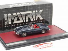 Ferrari 250 GT Cabriolet Series I Pininfarina Byggeår 1957 mørkeblå 1:43 Matrix