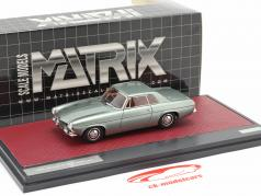 Jensen P-66 Prototype year 1964 green metallic 1:43 Matrix