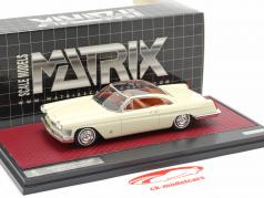 Cadillac Starlight Coupe Pininfarina Baujahr 1959 weiß 1:43 Matrix