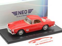 Maserati 3500 GT Touring Coupe Année de construction 1957 rouge 1:43 Neo