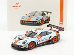 Porsche 911 GT3 R #20 Winnaar 24h Spa 2019 Christensen, Lietz, Estre 1:18 Spark
