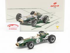 Jack Brabham Brabham BT19 #12 Campeão mundial França GP Fórmula 1 1966 1:18 Spark