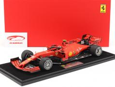 Charles Leclerc Ferrari SF90 #16 2nd Singapore GP formula 1 2019 1:18 LookSmart