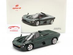 Yamaha OX99-11 Apresentação Carro 1992 verde escuro 1:18 Spark