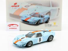 Ford Mirage #6 Gagnant 1000km Spa 1967 Ickx, Thompson 1:18 Spark