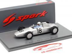 Jo Bonnier Porsche 804 #18 italien GP formule 1 1962 1:43 Spark