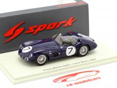 Aston Martin DBR1//300 #7 3º 24h LeMans 1960 Clark, Salvadori 1:43 Spark
