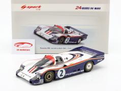 Porsche 956 #2 2º 24h LeMans 1982 Mass, Schuppan 1:18 Spark